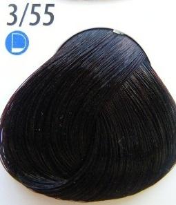 Estel De Luxe Крем-краска 3/55 Интенсивный красный темный шатен