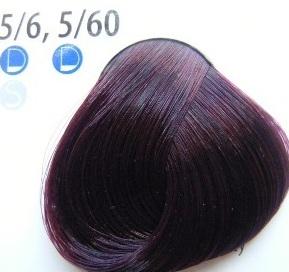 Estel De Luxe Крем-краска 5/6 Фиолетовый светлый шатен