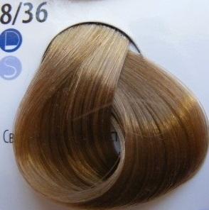 Estel Professional De Luxe Крем-краска 8/36 Золотисто-фиолетовый светло-русый
