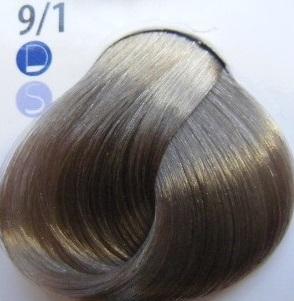 Estel De Luxe Крем-краска 9/1 Пепельный блондин