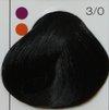 LC Стойкая крем-краска 3/0 темный шатен