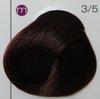 Londacolor стойкая крем-краска micro reds 3/5 темный шатен красный