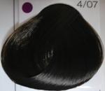 LC Стойкая крем-краска 4/07 шатен натурально-коричневый