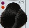 LC Стойкая крем-краска 4/71 шатен коричнево-пепельный